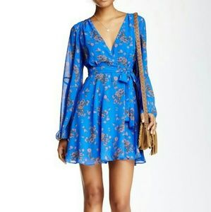 NP: Free people lilou dress in blue!